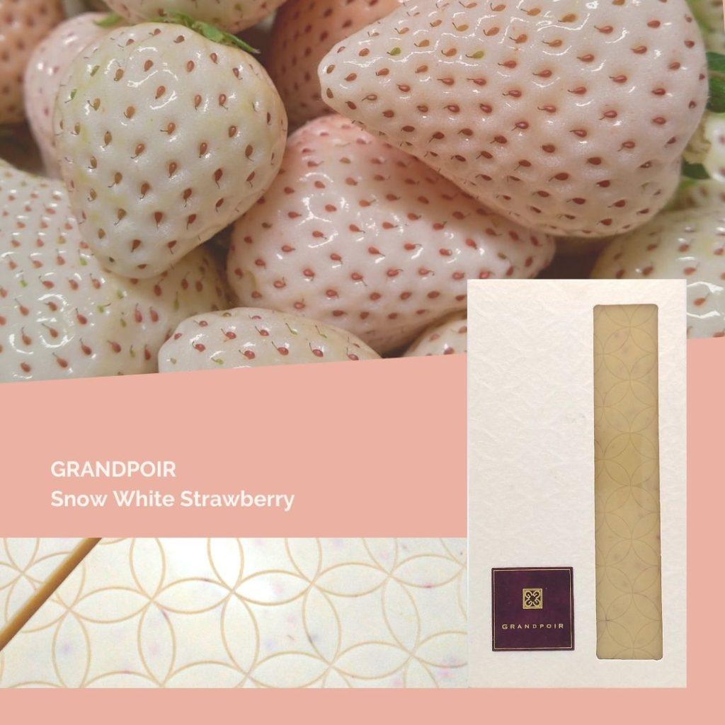 グランポワール雪うさぎ(白いちご)フルーツクーベルチュールチョコレート インターナショナルチョコレートアワード世界大会銅賞受賞